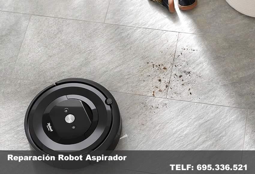 reparacion robot aspirador - reparartec