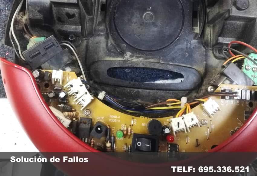 reparar robot aspirador - reparartec